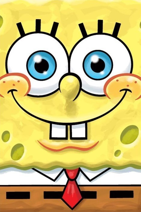 Juliste SPONGEBOB - smile