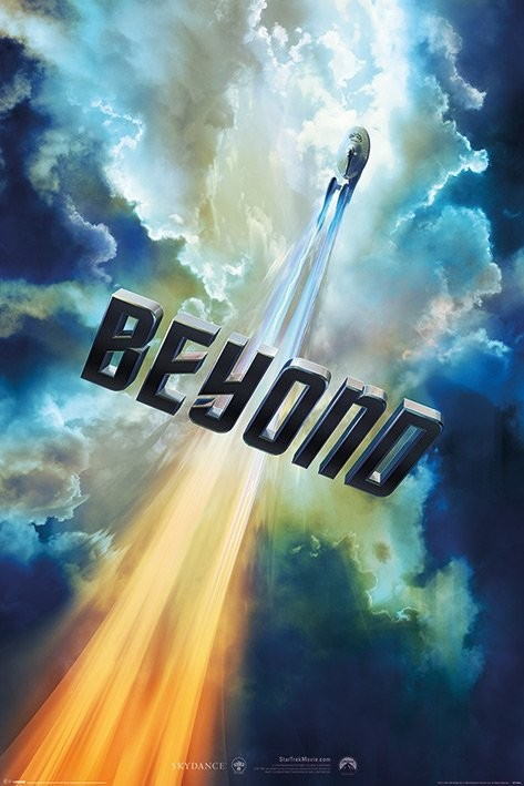 Juliste Star Trek Beyond - Clouds