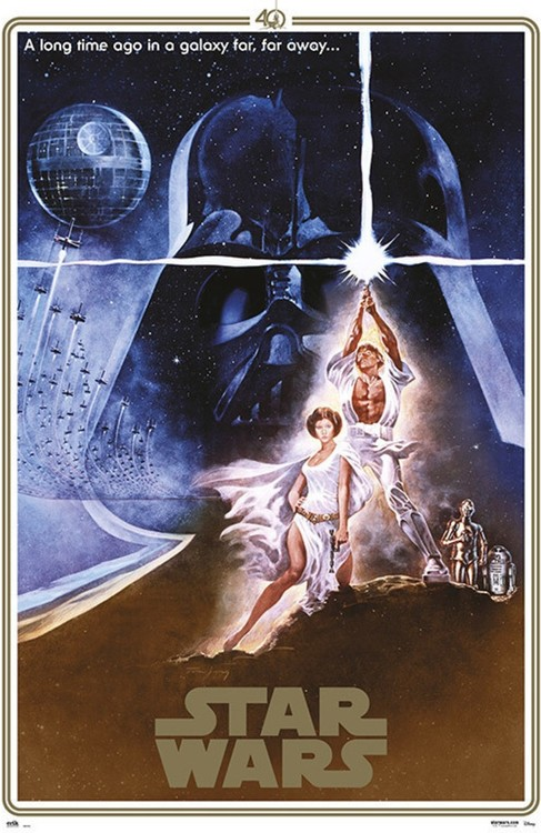 Juliste Star Wars - 40th Anniversary One Sheet