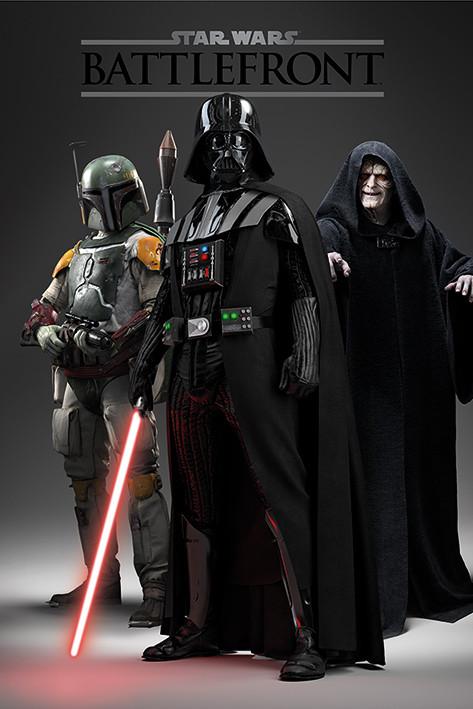 Juliste Star Wars: Battlefront - Dark Side