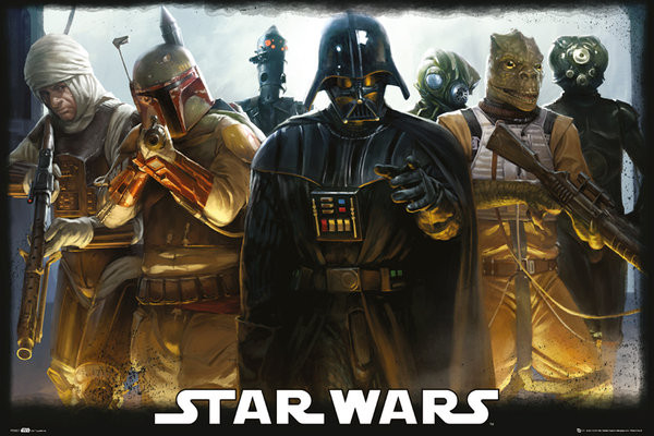 Juliste  STAR WARS - Bounty Hunters