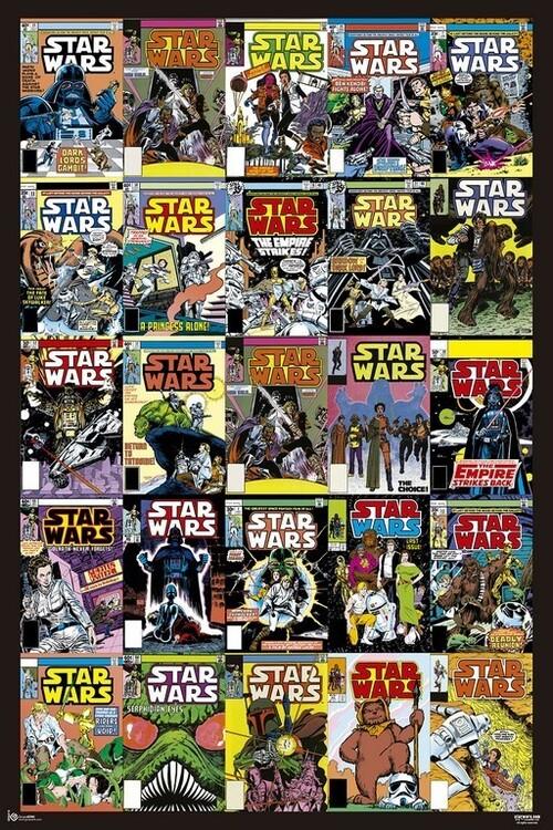 Juliste Star Wars - Covers