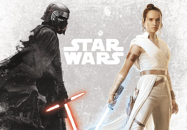 Juliste Star Wars - Kylo & Rey