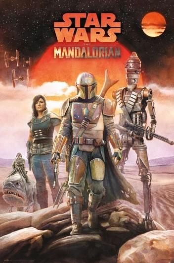 Juliste Star Wars: Mandalorian - Crew