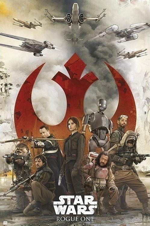 Juliste Star Wars: Rogue One - Rebels