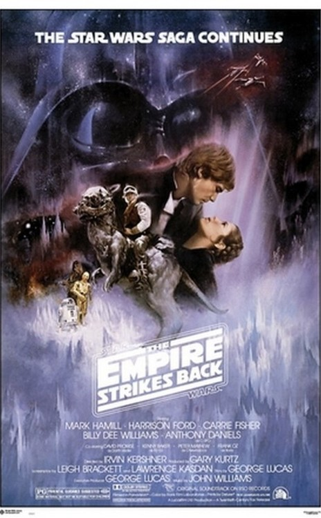 Juliste Star Wars - The Empire Strikes Back