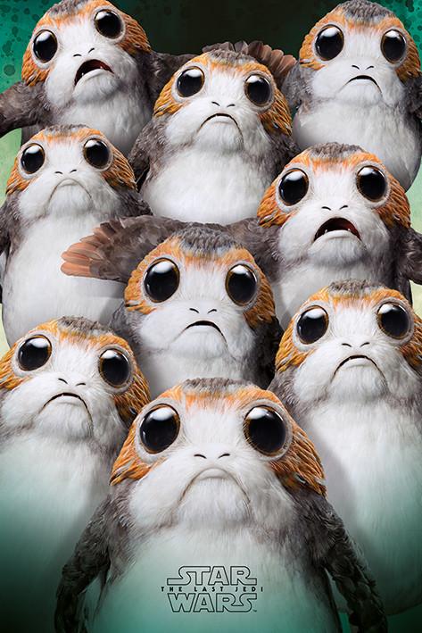 Juliste  Star Wars: The Last Jedi- Many Porgs