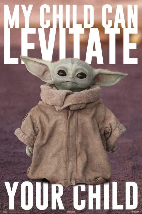 Juliste Star Wars: The Mandalorian - Baby Yoda
