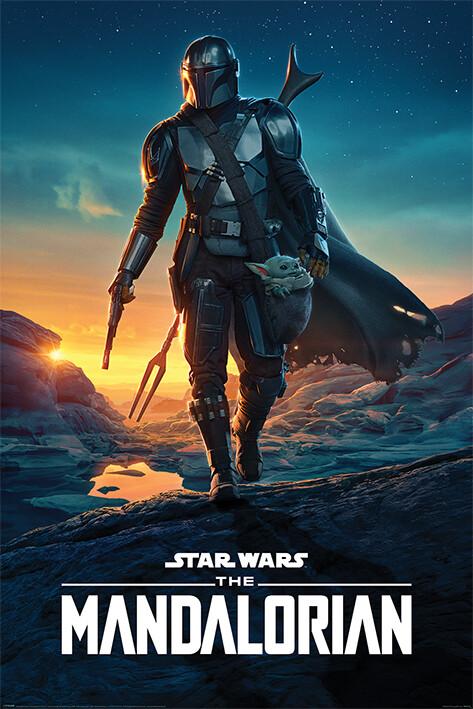 Juliste Star Wars: The Mandalorian - Nightfall
