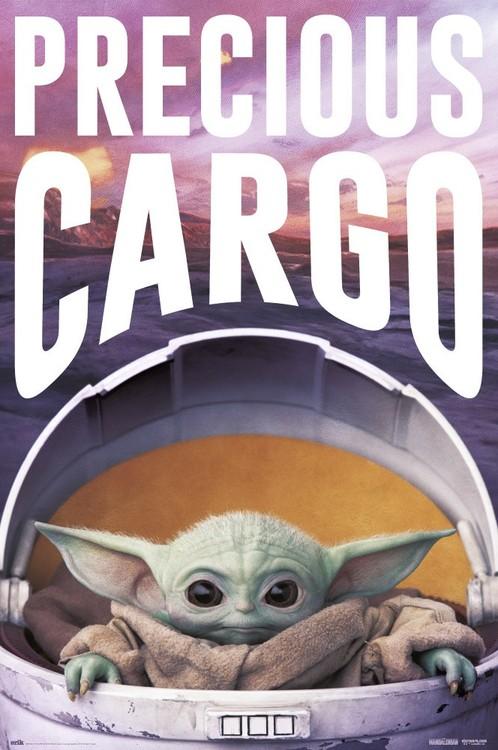 Juliste Star Wars: The Mandalorian - Precious Cargo