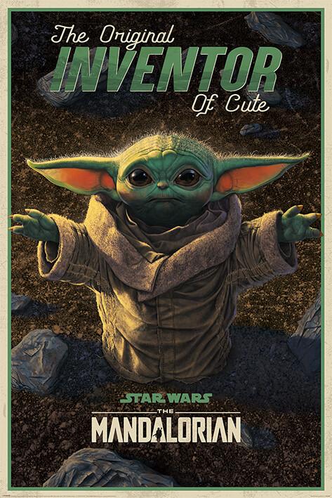 Juliste Star Wars: The Mandalorian - The Original Inventor of Cute