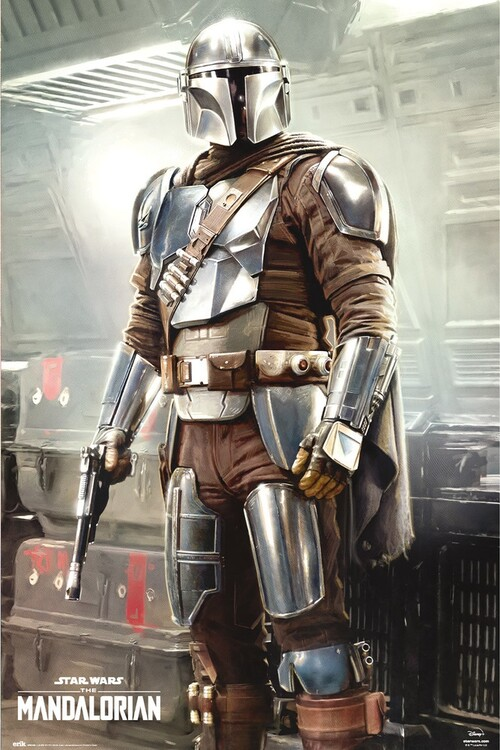 Juliste Star Wars: The Mandalorian - This is The Way
