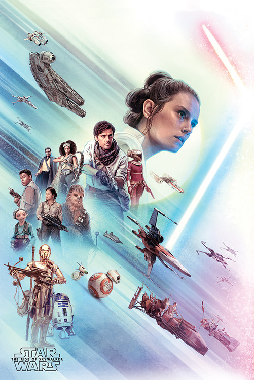 Juliste Star Wars: The Rise of Skywalker - Rey