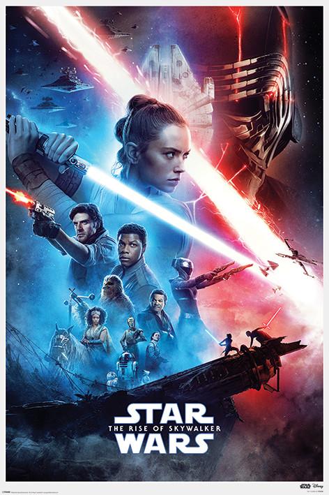 Juliste Star Wars: The Rise of Skywalker - Saga