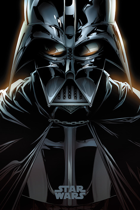 Juliste  Star Wars - Vader Comic