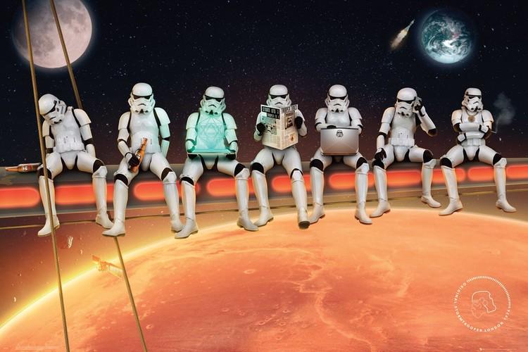 Juliste  Stormtrooper - On Girders