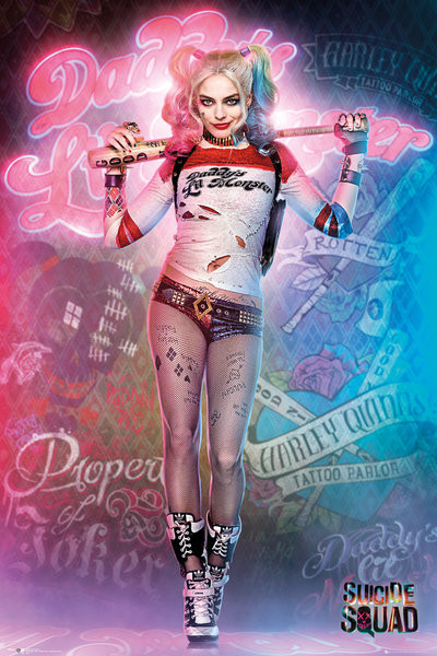 Juliste Suicide Squad - Harley Quinn Stand