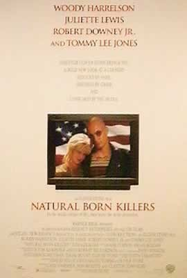 Juliste SYNTYNEET TAPPAJIKSI - NATURAL BORN KILLERS