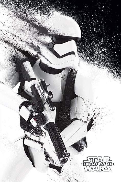 Juliste  Tähtien sota: Episodi VII – The Force Awakens - Stormtrooper Paint