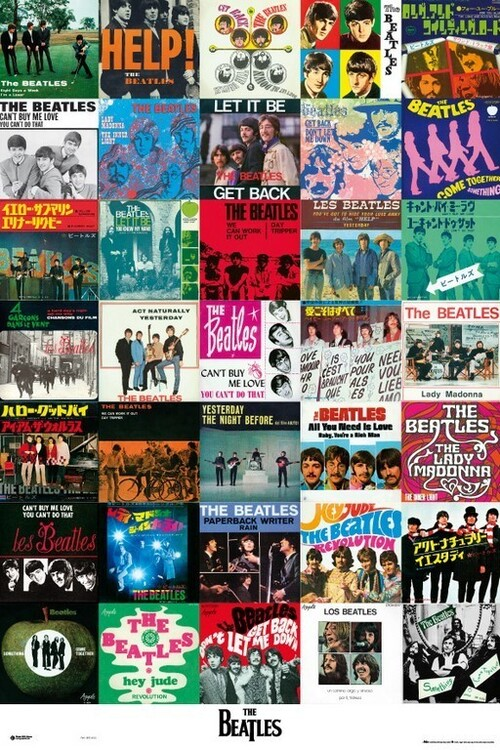 Juliste The Beatles - Covers