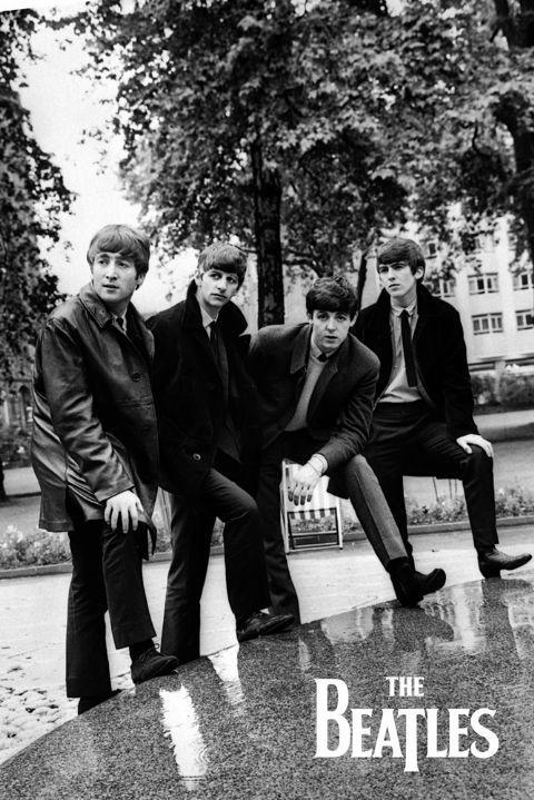 Juliste  The Beatles - Pose