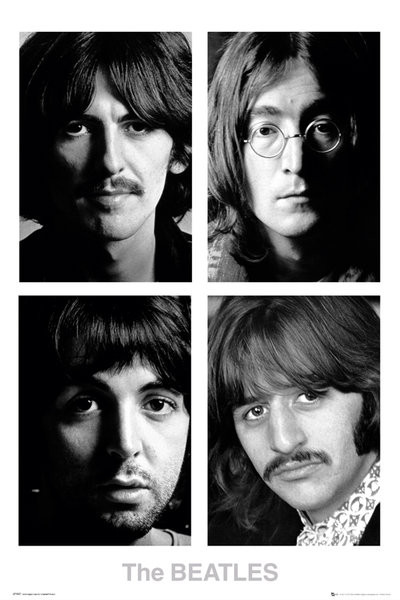 Juliste The Beatles - White album
