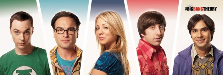 Juliste  The Big Bang Theory - Cast