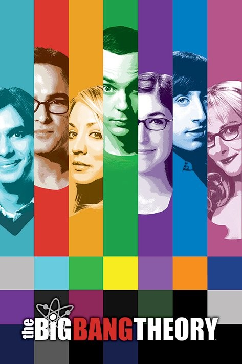 Juliste THE BIG BANG THEORY - signals