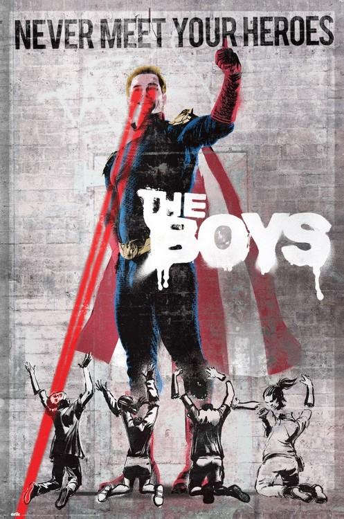 Juliste The Boys - Never Meet Your Heroes