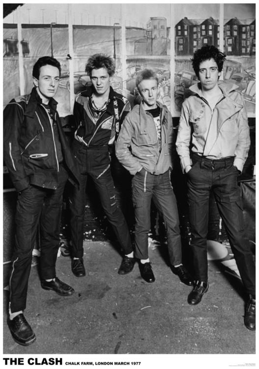Juliste The Clash - London 1977
