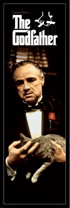 Juliste THE GODFATHER - cat