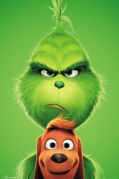 Juliste  The Grinch - Grinch and Max