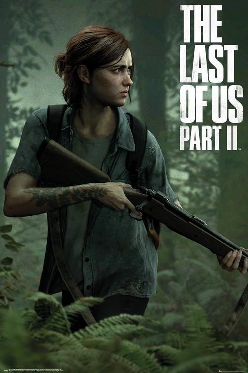 Juliste The Last of Us 2 - Ellie