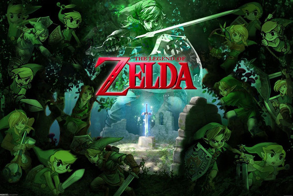 Juliste The Legend of Zelda - Link