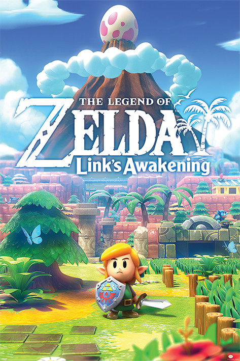 Juliste The Legend Of Zelda - Links Awakening