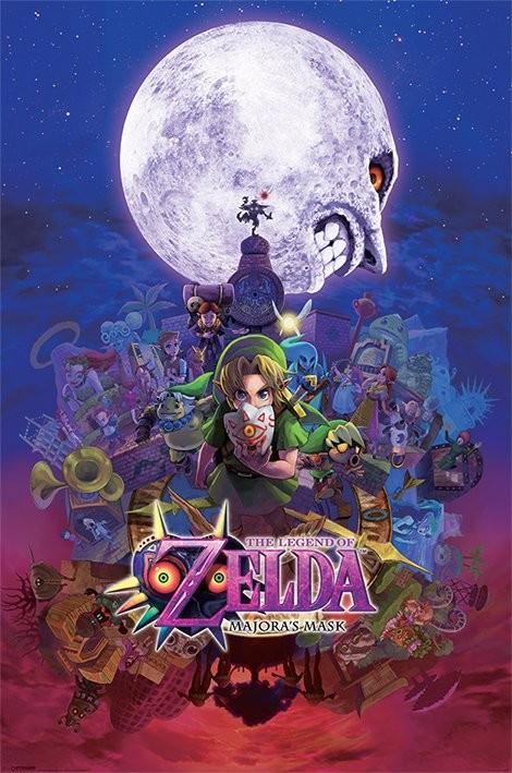 Juliste The Legend Of Zelda - Majora's Mask