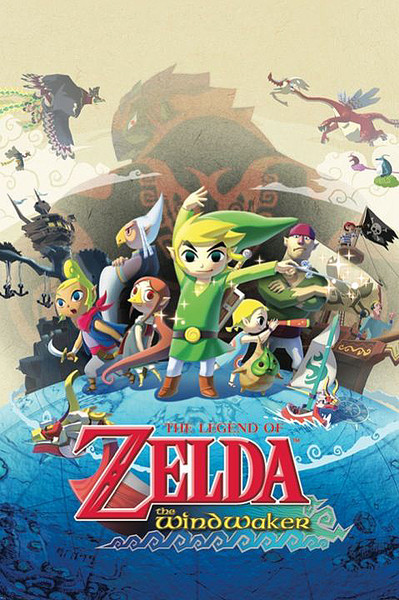 Juliste The Legend of Zelda - The Windwaker