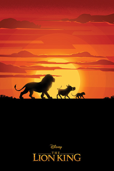 Juliste  The Lion King - Long Live The King