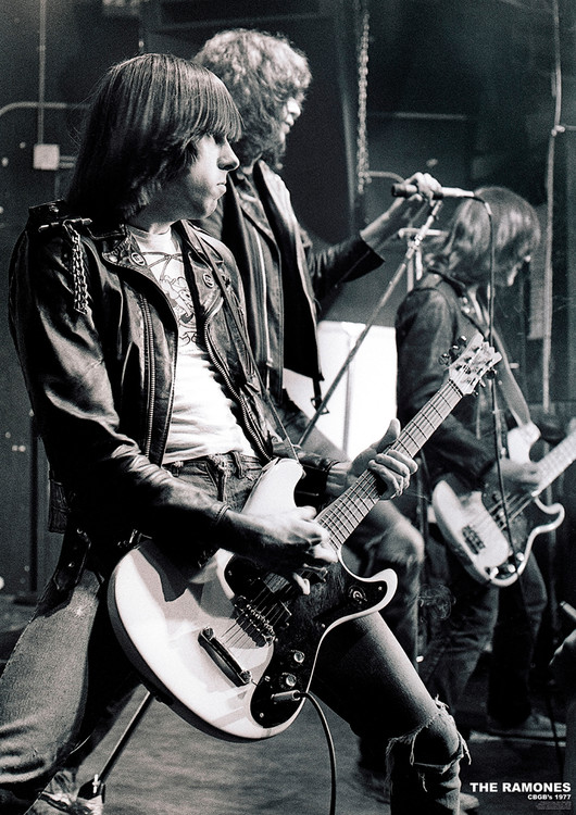 Juliste The Ramones - C.B.G.B.'S NYC 1977