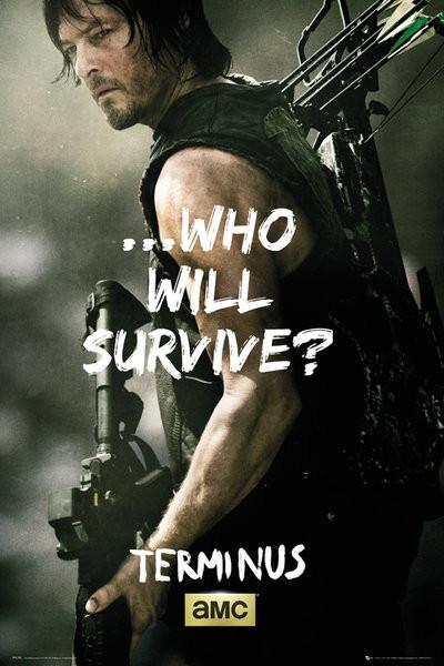 Juliste The Walking Dead - Daryl Survive