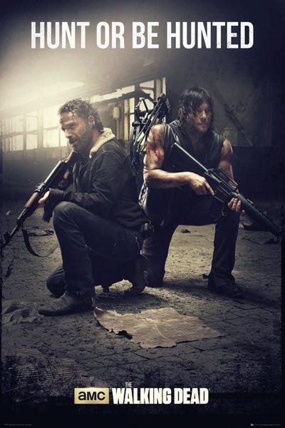 Juliste The Walking Dead - Hunt