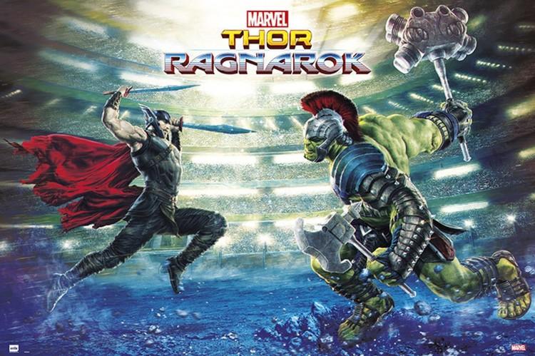Juliste  Thor Ragnarok - Battle