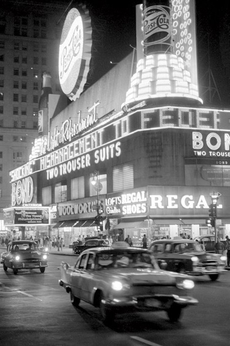 Juliste  Times square - 1959