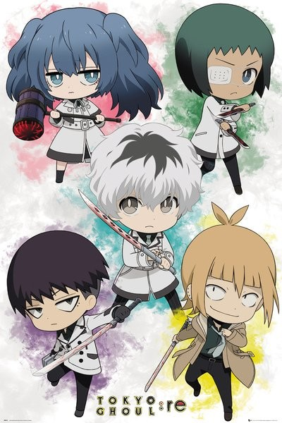 Juliste  Tokyo Ghoul - Re - Chibi Characters