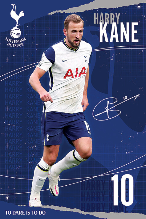 Juliste Tottenham Hotspur FC - Kane