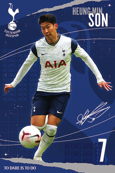 Juliste Tottenham Hotspur FC - Son
