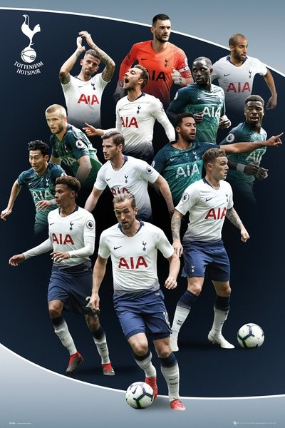 Juliste  Tottenham Hotspur - Players 18-19