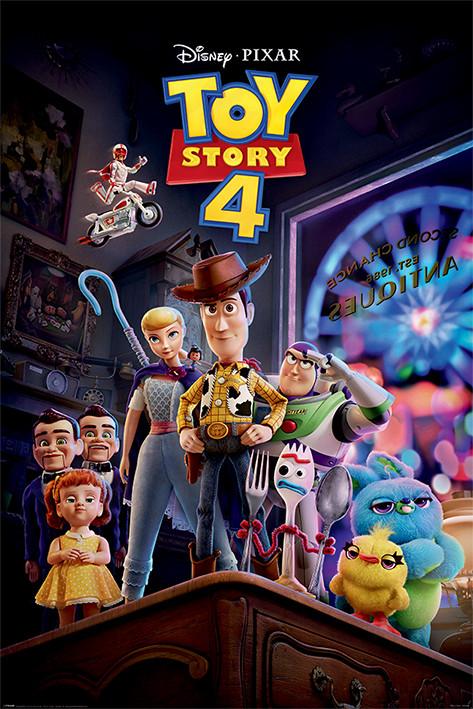 Juliste Toy Story 4 - Antique Shop Anarchy
