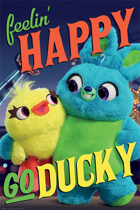Juliste  Toy Story 4 - Happy-Go-Ducky