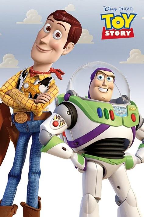 Juliste Toy Story - Woody & Buzz